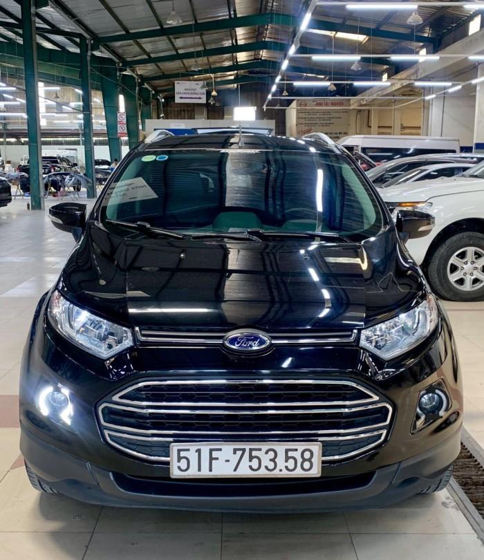 Bán Ford Ecosport sx 2k16 titanium màu đen 0