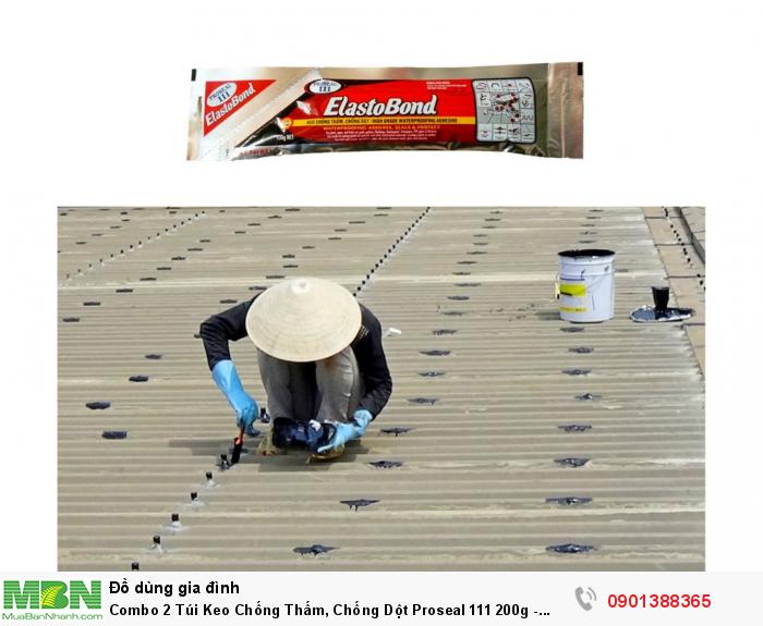 Bám dính và trám kín các vết nứt, mối nối chồng mí trong bê tông và trong các loại vật liệu xây dựng khác cần sự co giãn và trám kín các mối nối ghép mí/ chồng mí của các tấm cách nhiệt trong ống thông gió và các mối nối kim loại của ống thông gió