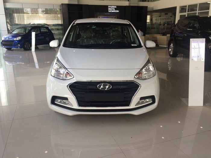 Hyundai Grand i10 sedan 1.2 MT, đầy đủ các màu, hỗ trợ trả góp tối ưu, quà tặng hấp dẫn 0