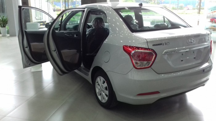 Hyundai Grand i10 sedan 1.2 MT, đầy đủ các màu, hỗ trợ trả góp tối ưu, quà tặng hấp dẫn 4