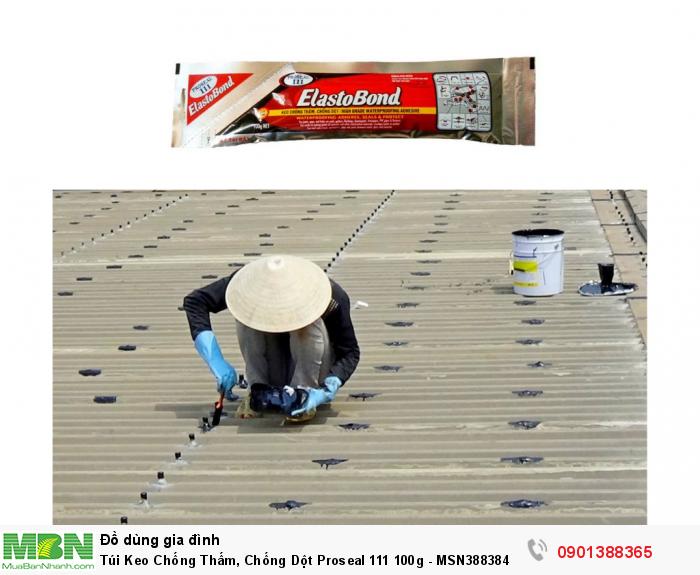 Bám dính và trám kín các vết nứt, mối nối chồng mí trong bê tông và trong các loại vật liệu xây dựng khác cần sự co giãn và trám kín các mối nối ghép mí/ chồng mí của các tấm cách nhiệt trong ống thông gió và các mối nối kim loại của ống thông gió2