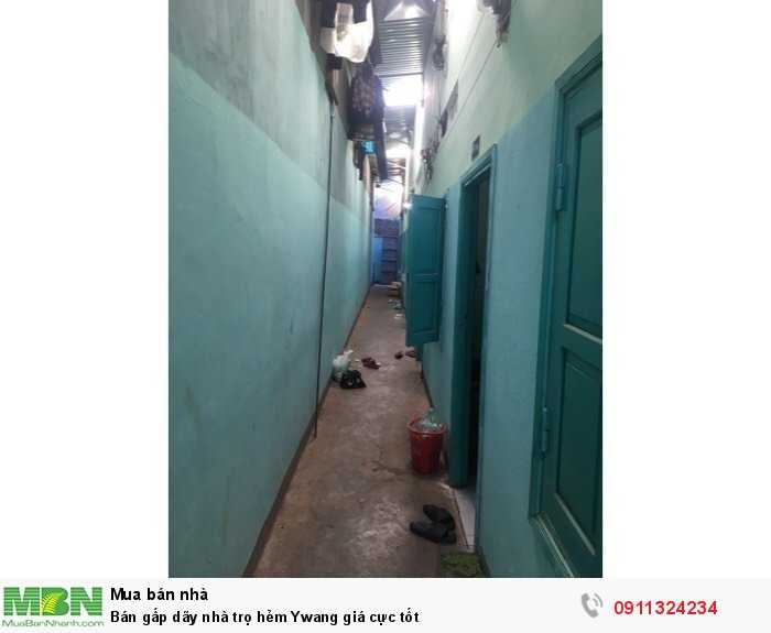 Bán gấp dãy nhà trọ hẻm Ywang giá cực tốt