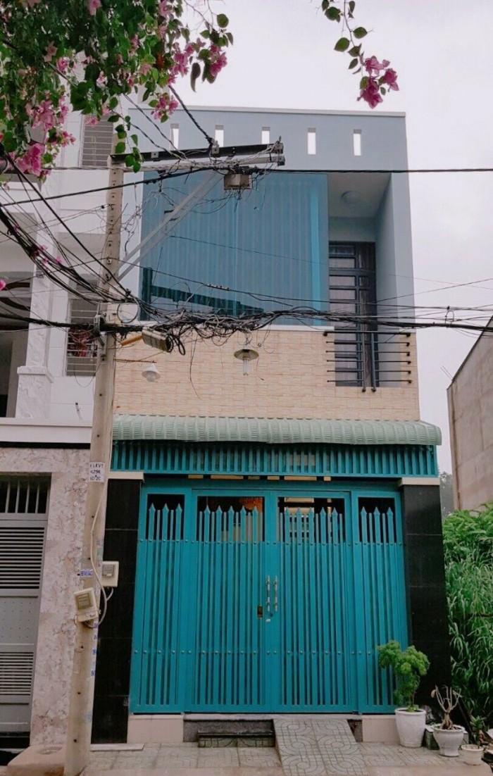 Bán nhà 4 tỷ 35, 1 lầu, 58m (4x14m5), hẻm 4m, Lê Văn Thọ, phường 14, gò vấp
