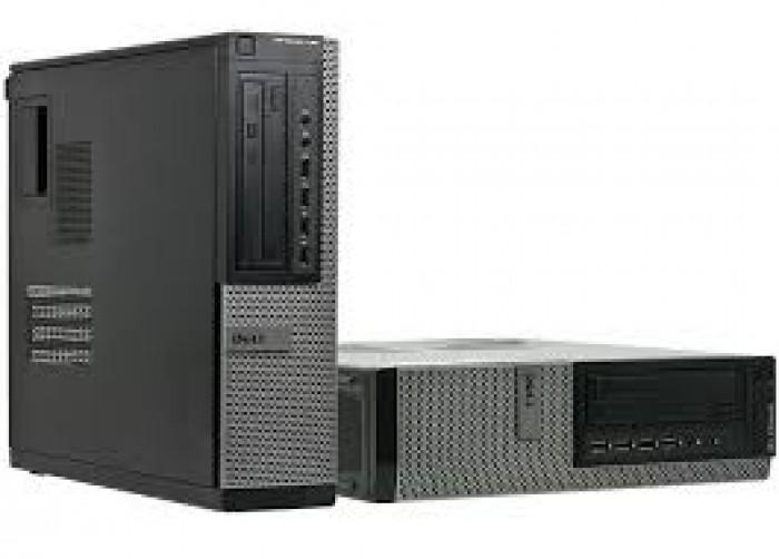 ♦ Bo mạch chủ: Intel Q65 hỗ trợ socket LGA1155. ♦ Bộ vi xử lý: Intel Core i5 - 2400  (6M Cache, 3.1 GHz. ) ♦ RAM  8 GB buss 1333/1600 ♦ Ổ đĩa cứng: 500 GB HDD. ♦ VGA rời Quardro k600 chuyên  đồ họa ♦ Ổ Đĩa Quang: DVD. ♦ Bộ nguồn: Dell 24 pin công suất thực Giá bán 4.200.000đ - Bảo hành 12 tháng.3