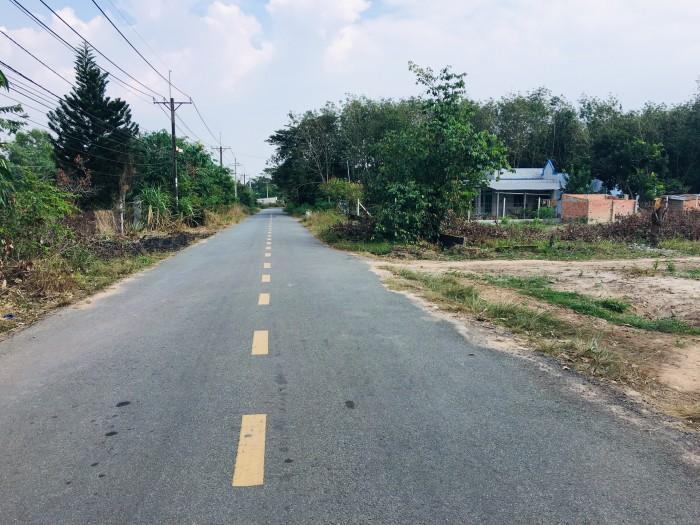 Đất chính chủ mặt tiền đường Bà Thiên – xã Nhuận Đức gần đường Phạm Văn Cội.