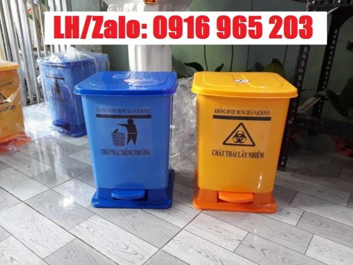 thùng rác y tế lây nhiễm, thùng rác y tế thông thường1