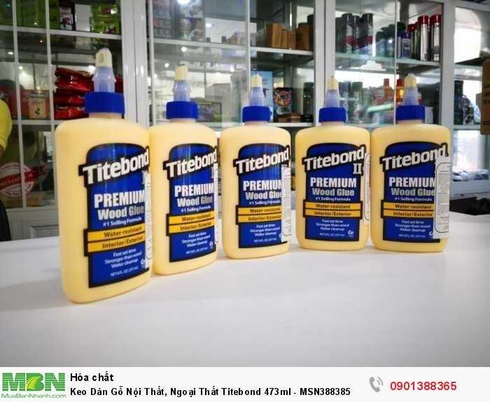 Titebond II Premium Wood Glue là nhãn hiệu hàng đầu duy nhất trong các loại keo một t...