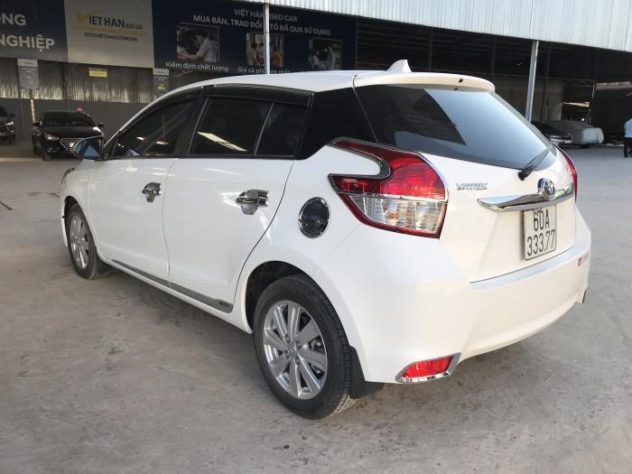 Bán Toyota Yaris G 1.5AT màu trắng số tự động nhập Thái Lan 2016 mẫu mới