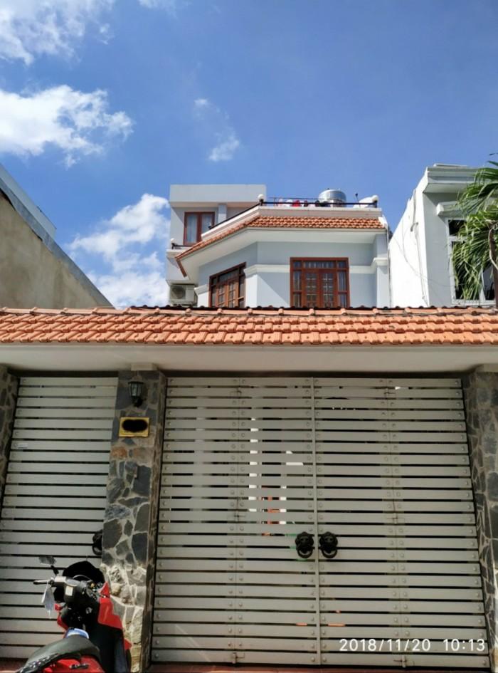 Bán nhà 2 lầu hẻm 8m đường số 10 Lý Phục Man P. Bình Thuận Quận 7.