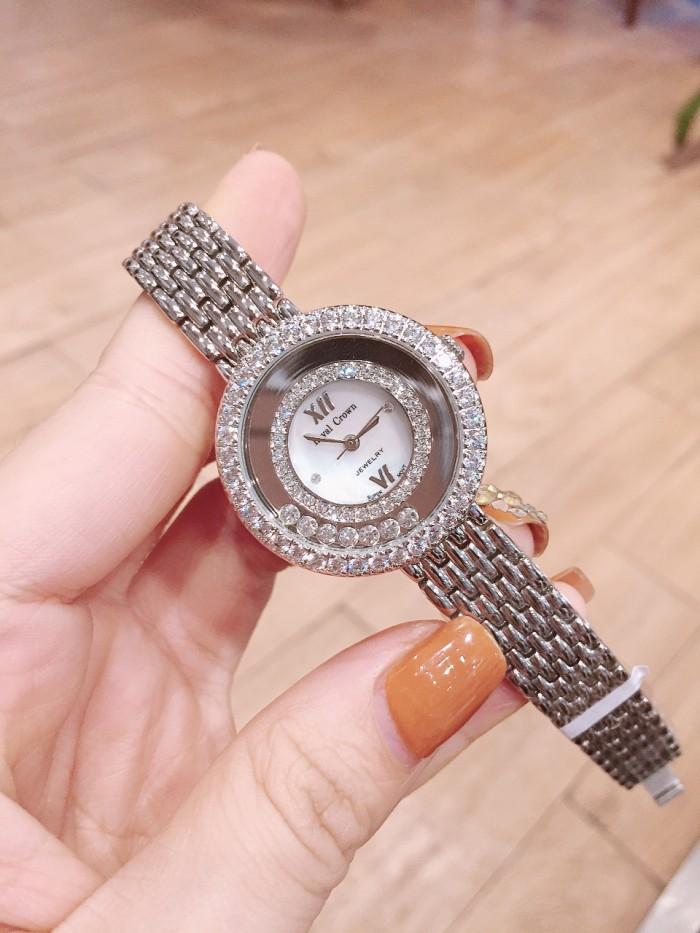 Đồng hồ nữ Royal Crown 3628 dây kim loại0