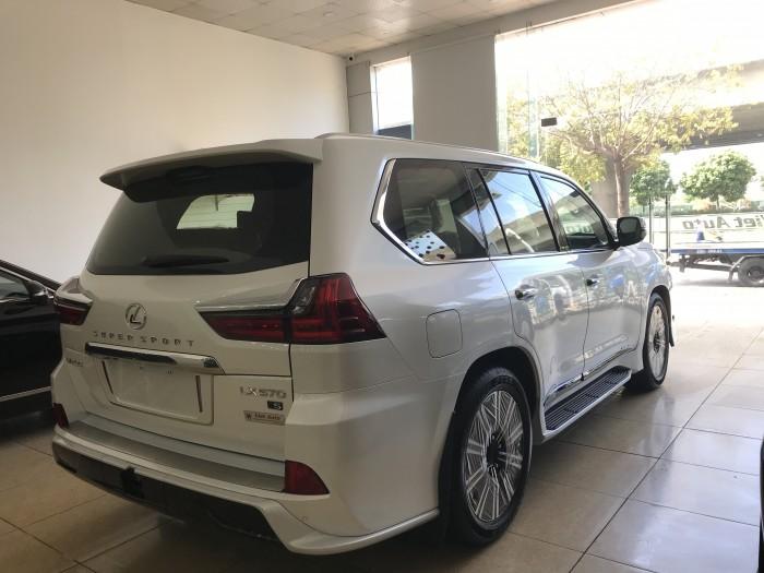 Bán ô tô Lexus LX 570 Super Sport ,nhập nguên chiếc, 2019, màu trắng,bản full ,xe giao ngay