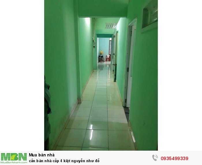 Cần bán nhà cấp 4 kiệt Nguyễn Như Đỗ