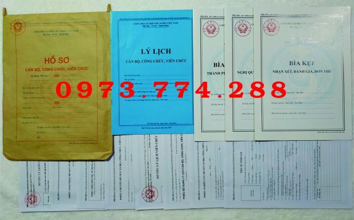 Công chức - Viên chức - Mẫu B01-B02-B03-B04-05-B06/BNV6