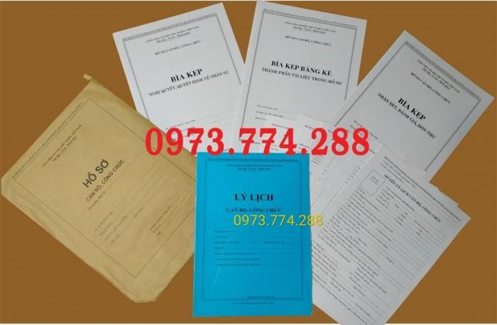 Công chức - Viên chức - Mẫu B01-B02-B03-B04-05-B06/BNV5