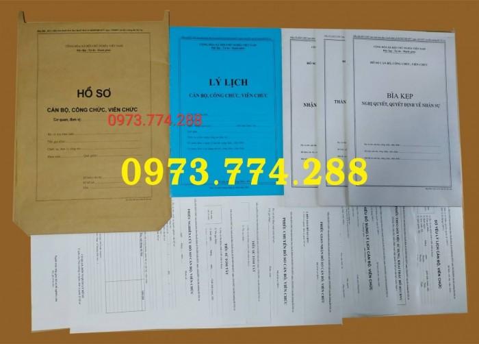 Công chức - Viên chức - Mẫu B01-B02-B03-B04-05-B06/BNV2