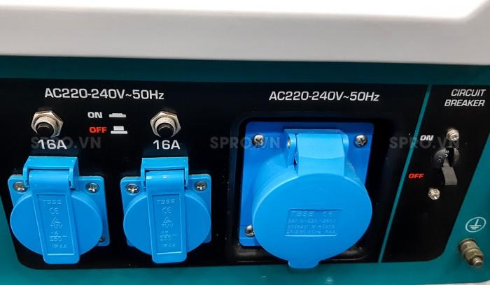 máy phát điện chạy xăng Total 6.5kw TP165006