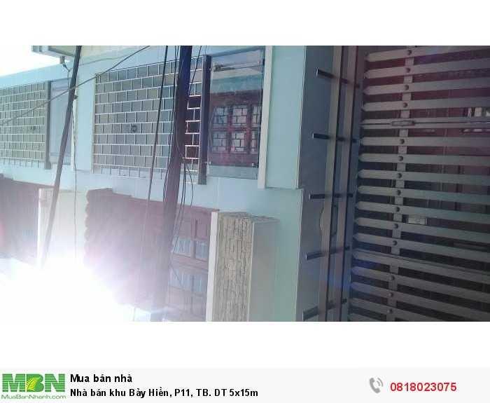 Nhà bán khu Bảy Hiền, P11, TB. DT 5x17m