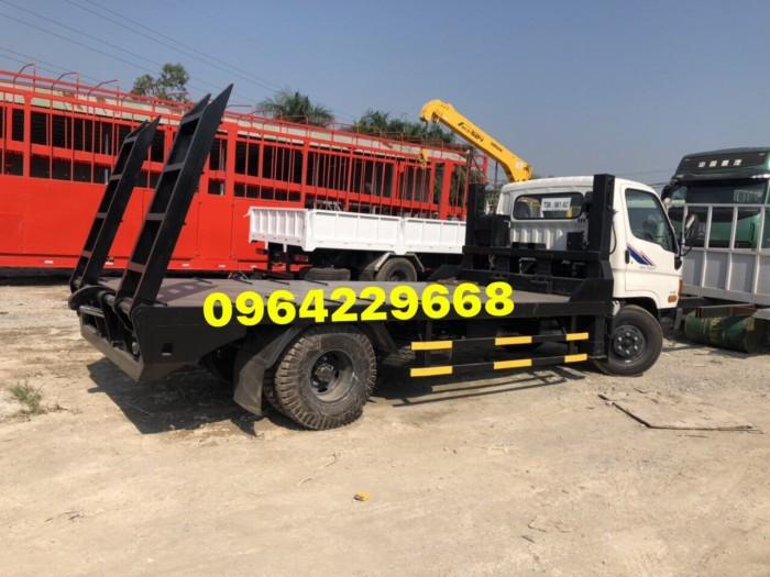 Xe nâng đầu chở máy xúc đào máy gặt Hyundai HD800 Veam