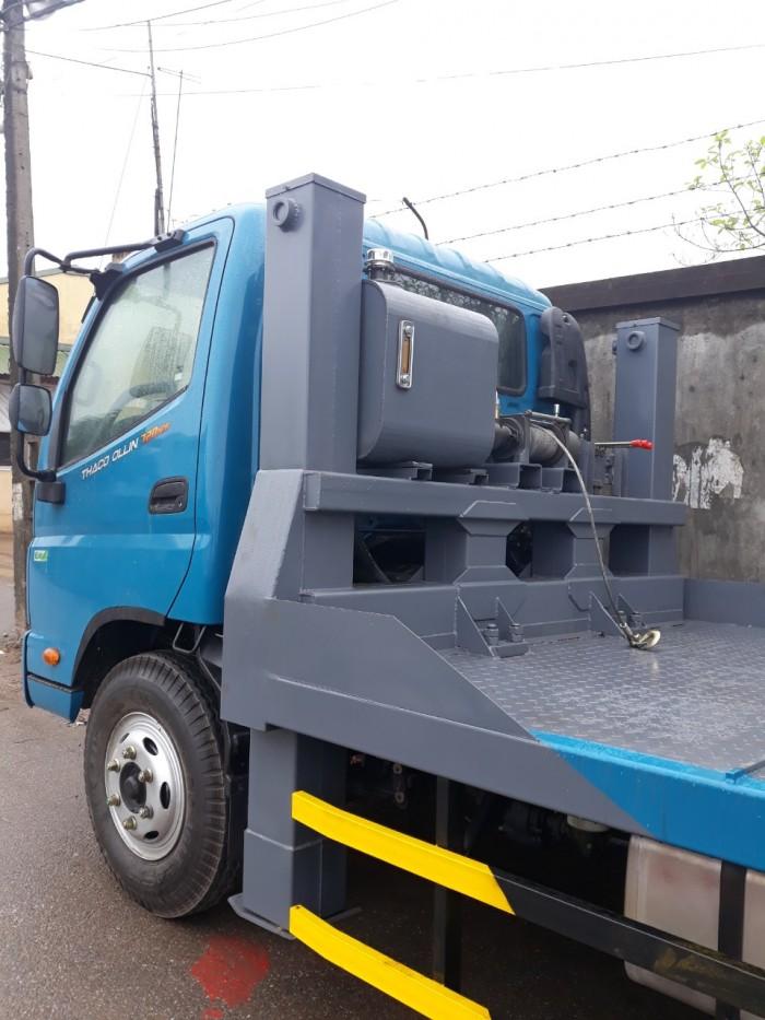 Xe nâng đầu chở máy công trình Thaco Olin720 Euro4 2018