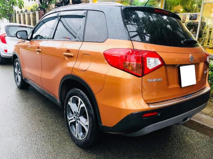 Gia đình cần bán xe Vitara 2016, số tự động, nhập hungary, màu cam
