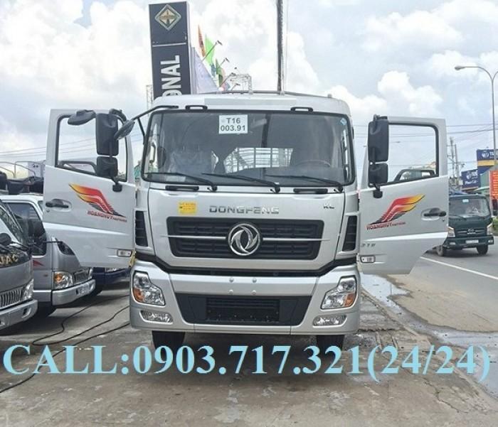 Bán xe tải DongFeng Hoàng Huy 4 chân tải 17T99. Xe DongFeng 4 chân YC310 tải 17T99 6