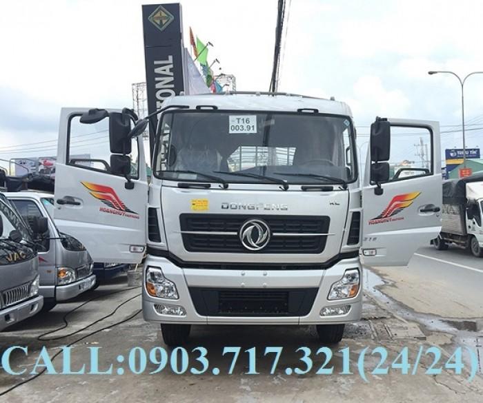 Bán xe tải DongFeng Hoàng Huy 4 chân tải 17T99. Xe DongFeng 4 chân YC310 tải 17T99 3