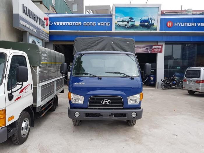 Bán xe tải mui phủ bạt Hyundai 7 tấn, thành công lắp ráp 5