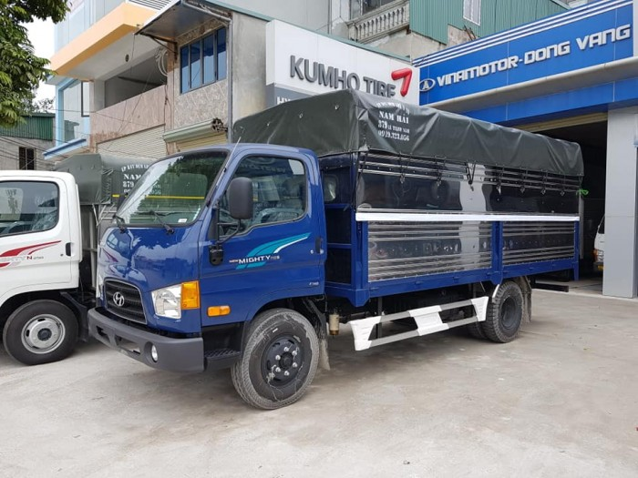 Bán xe tải mui phủ bạt Hyundai 7 tấn, thành công lắp ráp 1