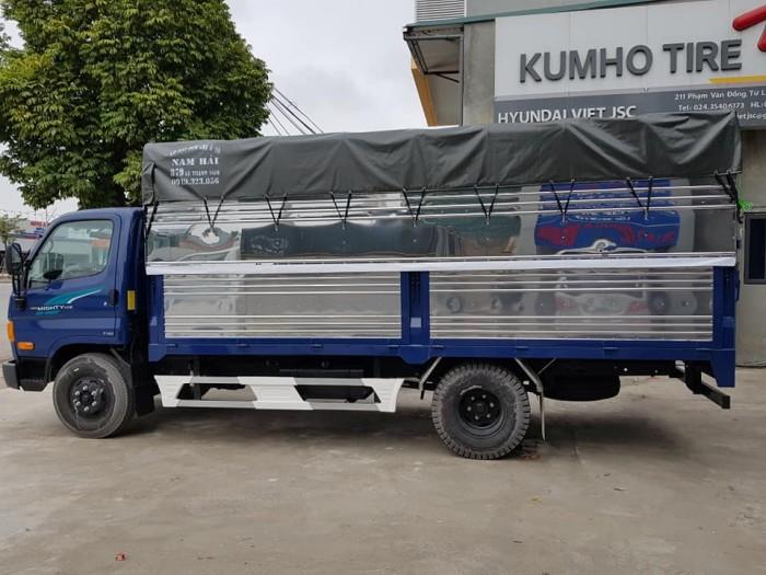 Bán xe tải mui phủ bạt Hyundai 7 tấn, thành công lắp ráp 6