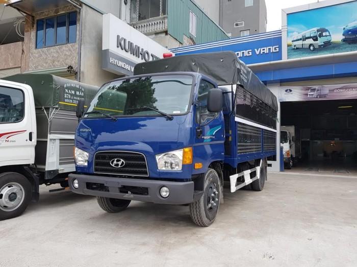 Bán xe tải mui phủ bạt Hyundai 7 tấn, thành công lắp ráp 7