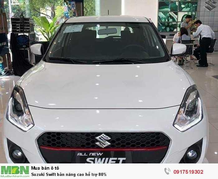 Suzuki Swift bản nâng cao hỗ trợ 80%