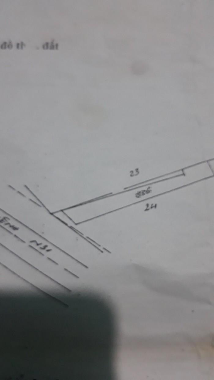 Đất Thổ Cư 7m X 39m,Nở Hậu 9m Xã Tân An Hội Củ Chi