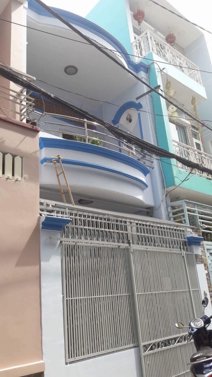 Nhà MTKD Nguyễn Qúy Anh 3.87x13, 1 lầu Tây Tứ Trạch P. Tân Sơn Nhì