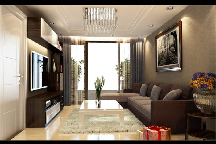 Q12- Căn hộ 52m2 - 2 phòng ngủ bàn giao cao cấp, trả trước (30%)