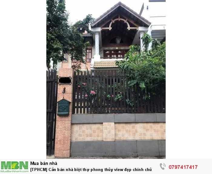 [TPHCM] Cần bán nhà biệt thự phong thủy view đẹp chính chủ