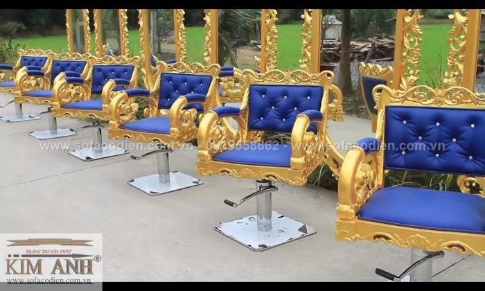 [3] Nơi bán ghế cắt tóc nữ cao cấp cổ điển hoàng gia giá rẻ