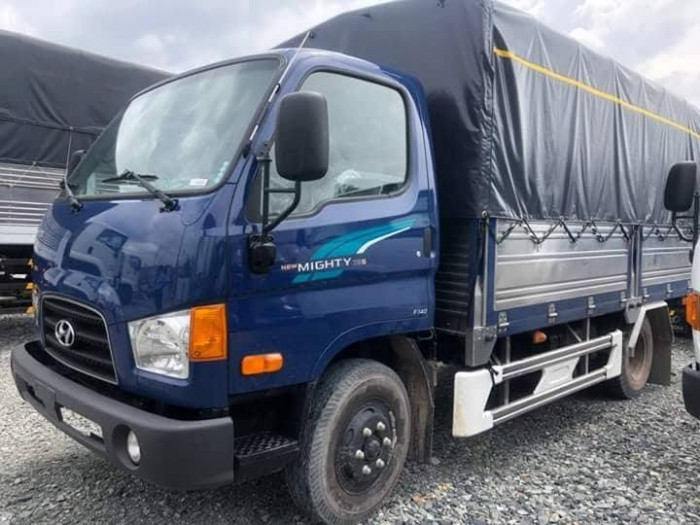 Hyundai 3.5 tấn hạ tải còn 1.9 tấn vào thành phố thoải mái 4