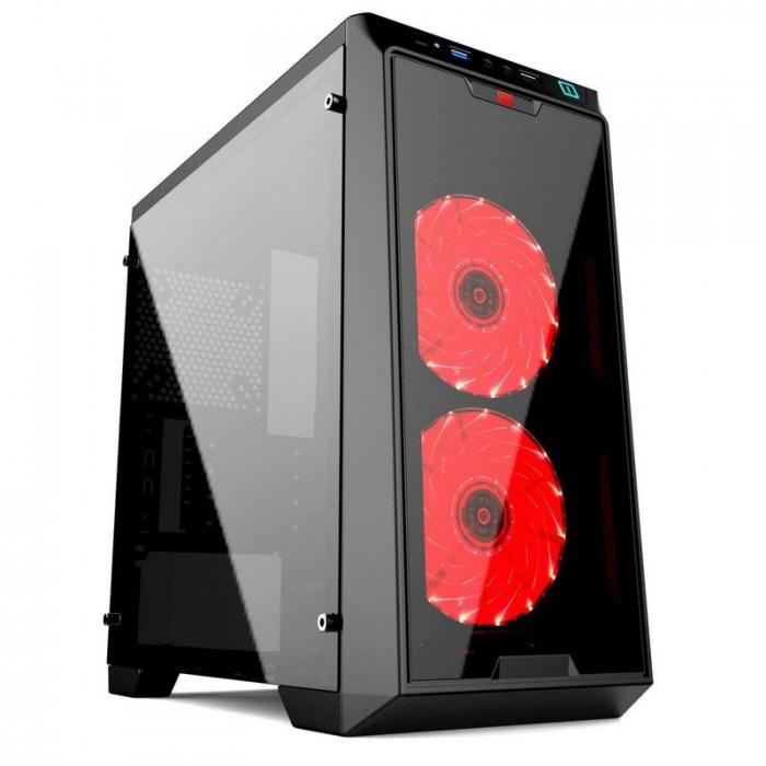 Vỏ Máy Tính ( Case ) XIGMATEK VIRGO Kèm 2 Fan Led NEW Fullbox1
