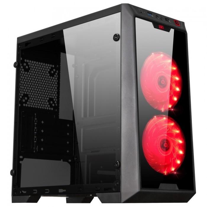 Vỏ Máy Tính ( Case ) XIGMATEK VIRGO Kèm 2 Fan Led NEW Fullbox0