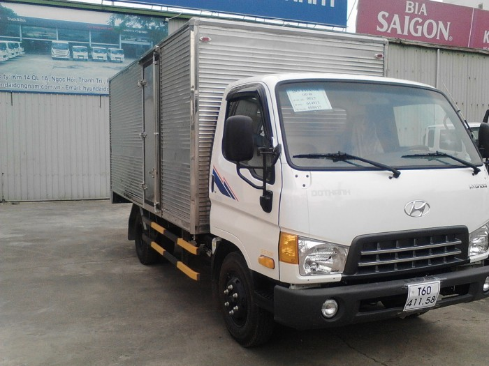 Xe Tải Hyundai 4.9 Tấn Thùng Kín - Hd88 2