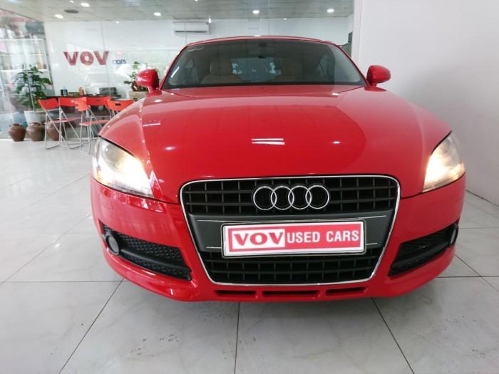 Bán Audi TT sản xuất 2008 màu đỏ