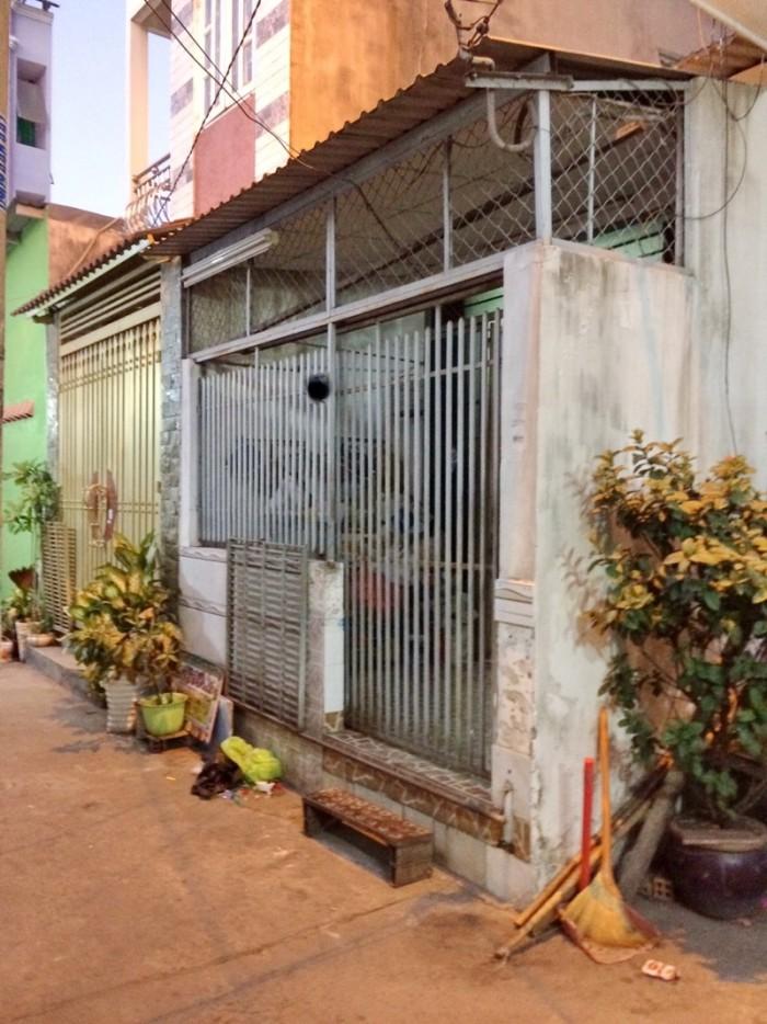 Bán nhà cấp 4 hẻm xe hơi 270 Huỳnh Tấn Phát P. Tân Thuận Tây Quận 7.