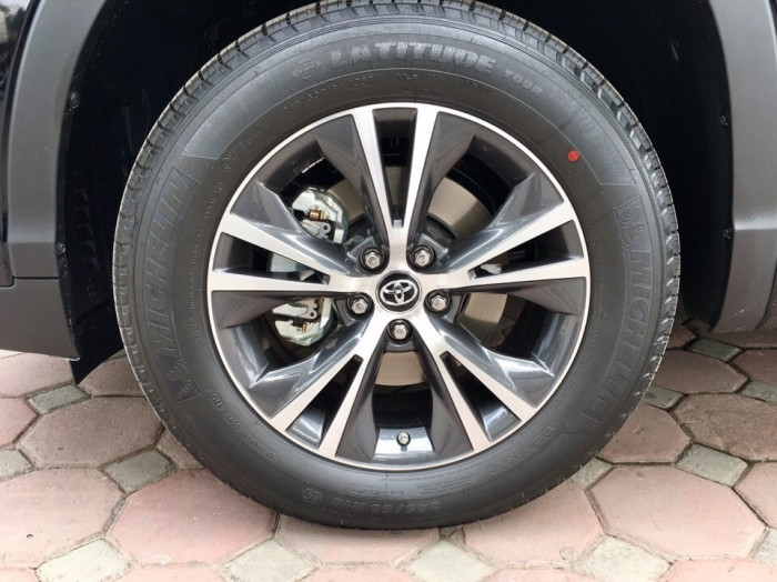 MT AUTO bán xe Toyota Highlander LE năm 2017, màu đen, nhập khẩu Mỹ 22