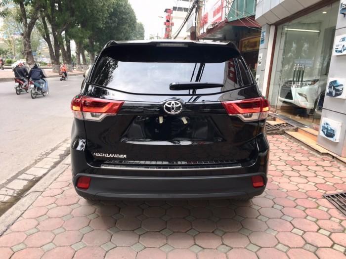 MT AUTO bán xe Toyota Highlander LE năm 2017, màu đen, nhập khẩu Mỹ 9
