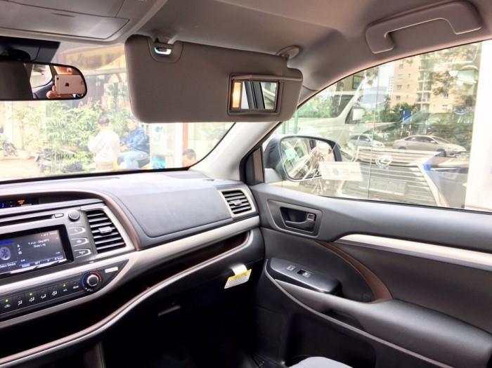 MT AUTO bán xe Toyota Highlander LE năm 2017, màu đen, nhập khẩu Mỹ 6