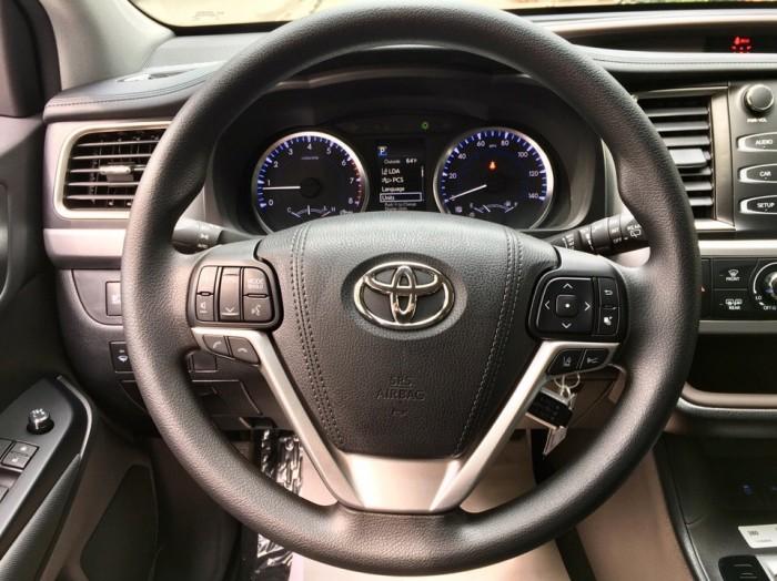 MT AUTO bán xe Toyota Highlander LE năm 2017, màu đen, nhập khẩu Mỹ 7