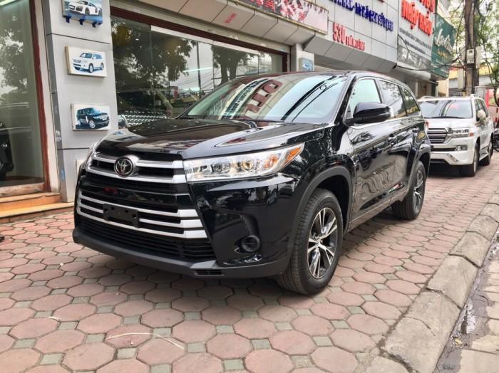 MT AUTO bán xe Toyota Highlander LE năm 2017, màu đen, nhập khẩu Mỹ 15