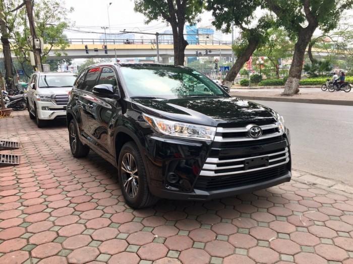 MT AUTO bán xe Toyota Highlander LE năm 2017, màu đen, nhập khẩu Mỹ 4