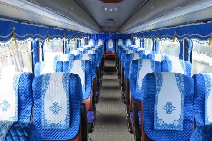 Chuyên Áo Bọc ghế, Rèm cửa, màn cửa Xe khách 16 -47 chỗ, xe giường nằm