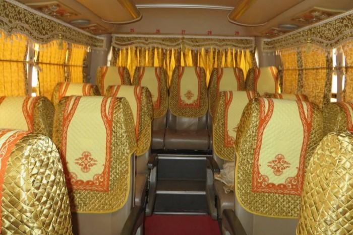 Bán Áo Bọc ghế Xe Samco, xe huimdai, xe Daewoo 16 chỗ 47 chỗ 13
